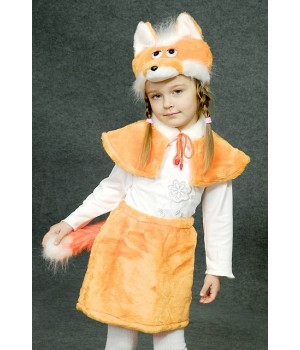 Дитячий карнавальний костюм Лисичка