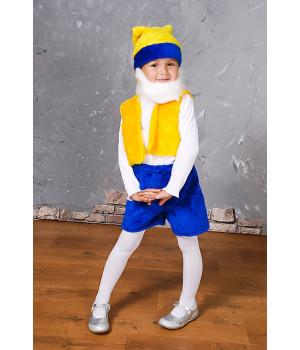 Дитячий карнавальний костюм Гномик