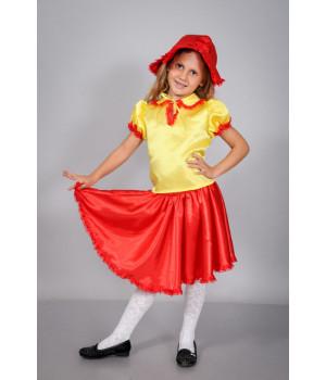 Дитячий карнавальний костюм Дюймовочка П1