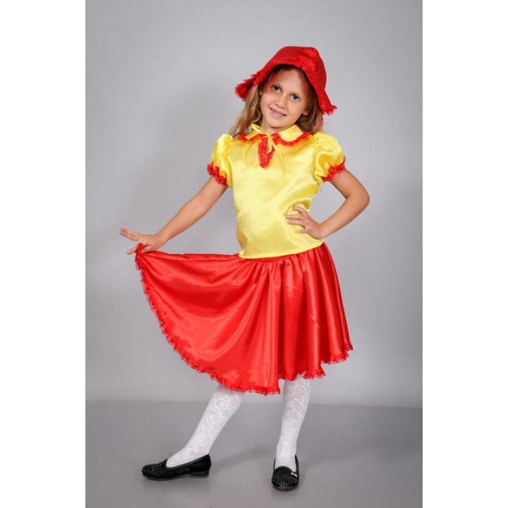 Купити дитячий карнавальний костюм для дівчинки Дюймовочка П1