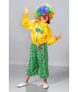 Дитячий карнавальний костюм Клоун П1