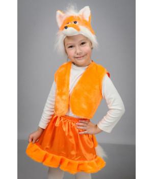 Дитячий карнавальний костюм Лисичка П1
