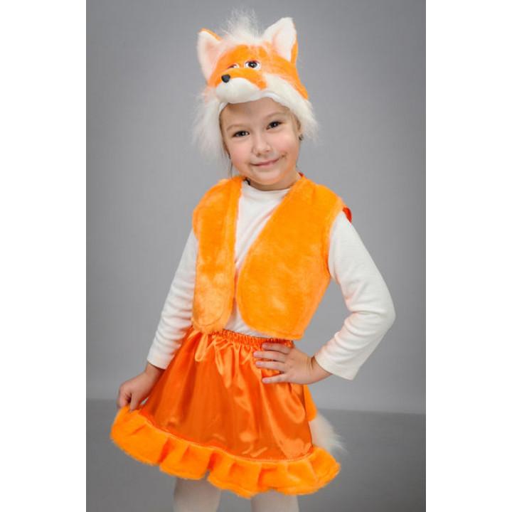 Детский карнавальный костюм Лисичка П1 - Купить для девочки cc0e171f6ec6c