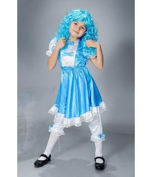 Дитячий карнавальний костюм Мальвіна П1