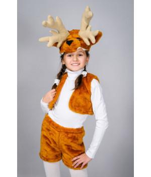 Дитячий карнавальний костюм Олень П1