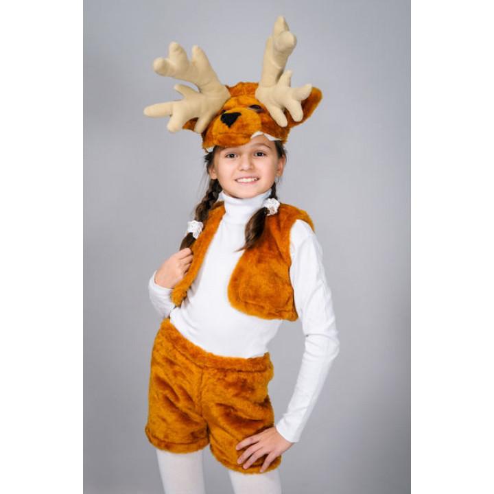 Олень  - Дитячий карнавальний костюм для дитячого ранку