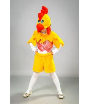 Дитячий карнавальний костюм Півник (парча) П1