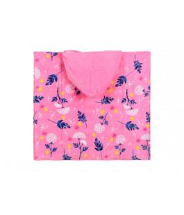 Пляжное полотенце-пончо ХОЛОДНОЕ СЕРДЦЕ ET1853-2