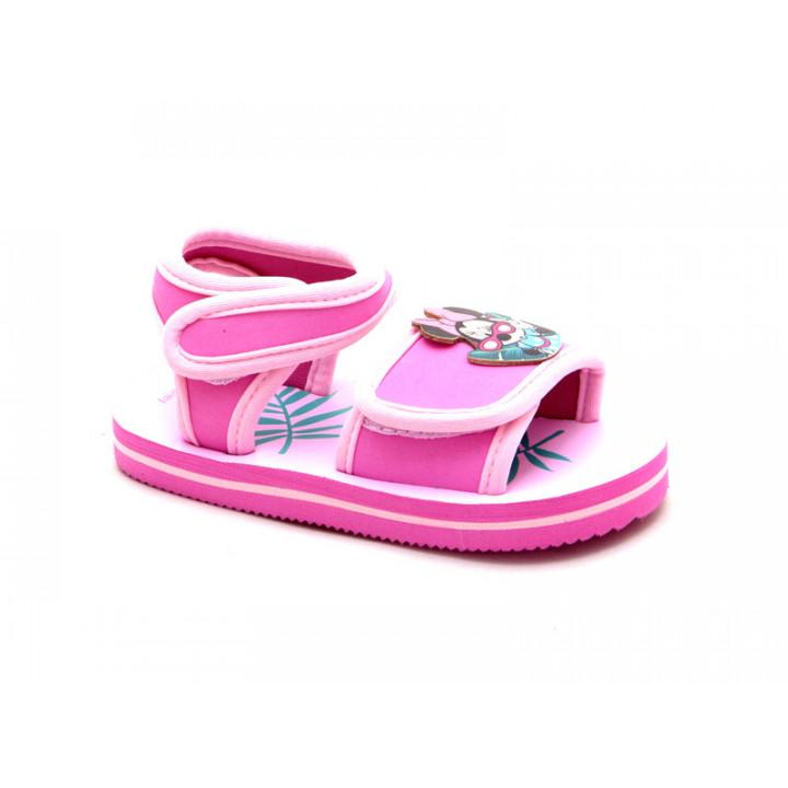 Купити дитячі пляжні босоніжки МІННІ МАУС арт. 12633 для дівчат