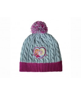 Зимние шапка шарфик рукавички FROZEN 00537