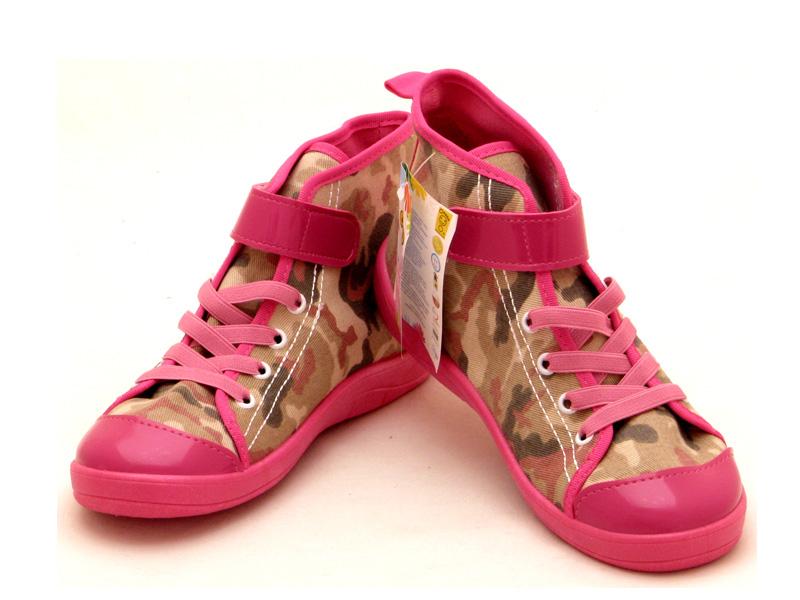 Взуття дитяче Бефадо - Високі кеди для дівчат 268Y048 be8eccb05a838