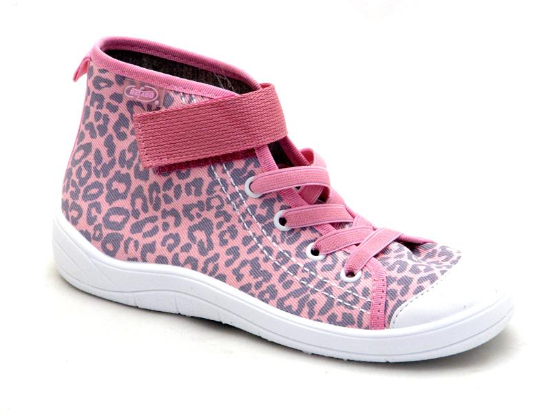 Взуття дитяче Бефадо - Високі кеди для дівчат 268Y057 852d9a6a14f1d