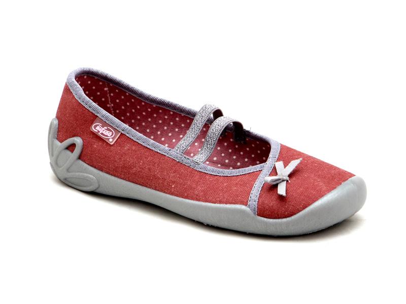 Дитяче взуття БЕФАДО - Текстильні дитячі мокасини для дівчинки Befado  116Y198 d998d02d8e5d2