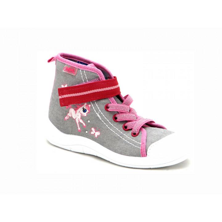 БЕФАДО - Взуття дитяче купити - Стильні високі кеди для дівчат 268X059 080daef91792c