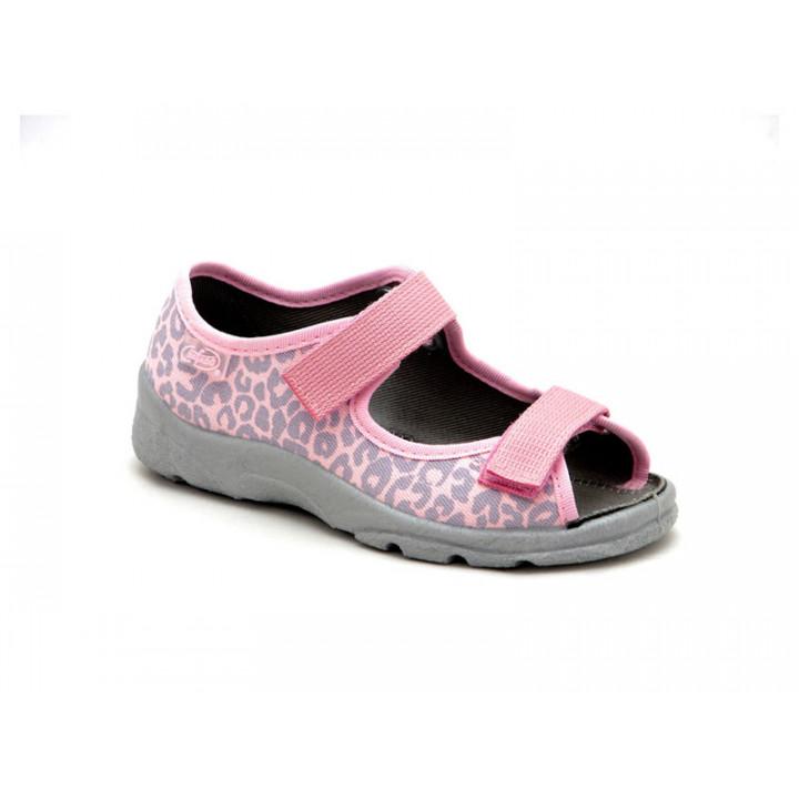 БЕФАДО - обувь для детей купить - текстильные детские сандалии для девочки Befado 969X092