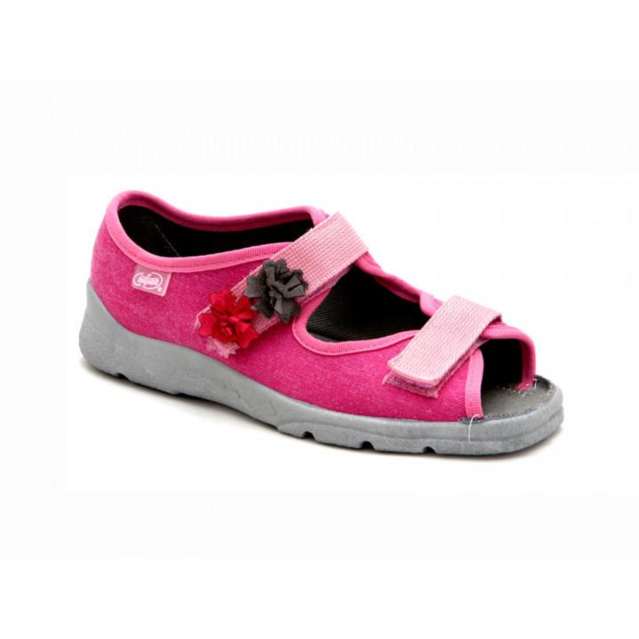 БЕФАДО - обувь для детей купить - текстильные сандалии для девочки Befado 969Y102