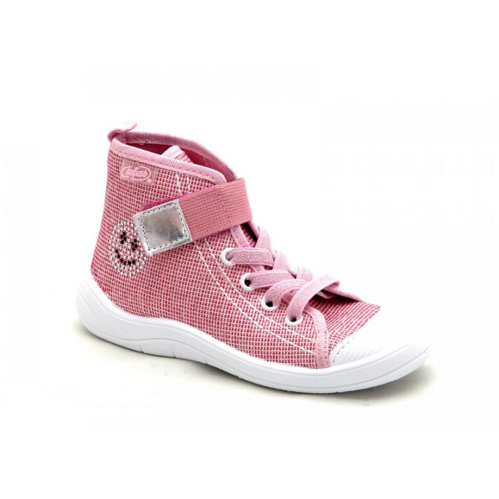 7d9e454e2405 БЕФАДО - обувь для детей - купить детские высокие кеды на липучках для  девочки 268X068