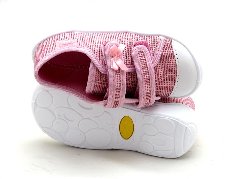 BEFADO - взуття для дітей - Купити стильні дитячі кеди на липучках для  дівчинки Befado 907P099 55677d76f1d2a