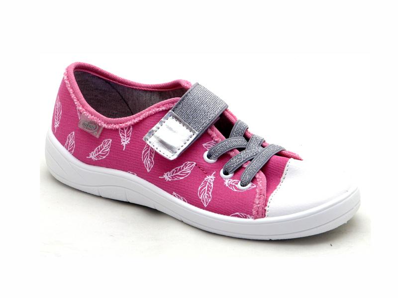 БЕФАДО - Взуття дитяче купити - стильні текстильні кеди на липучці для  дівчат Befado 251Y110 e982b819db270