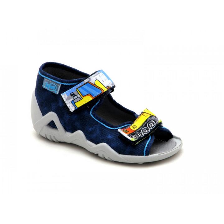 БЕФАДО - Обувь детская купить - Детские текстильные сандалии на мальчика Befado 250P077