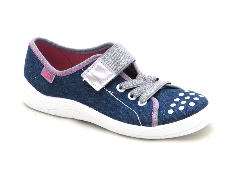 БЕФАДО - Взуття дитяче купити - стильні текстильні кеди на липучці для  дівчат Befado 251y109 a27aece0713c1