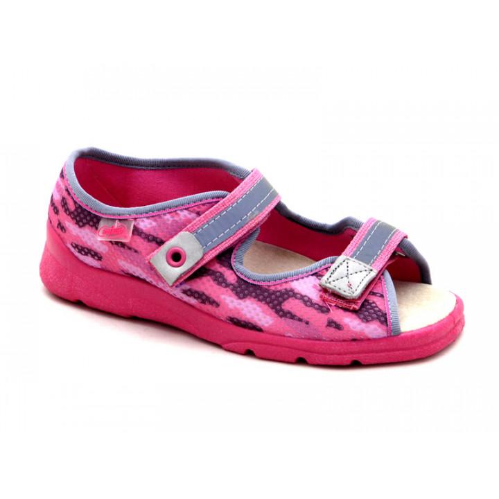 БЕФАДО - обувь для детей купить - текстильные сандалии для девочки Befado 969Y112