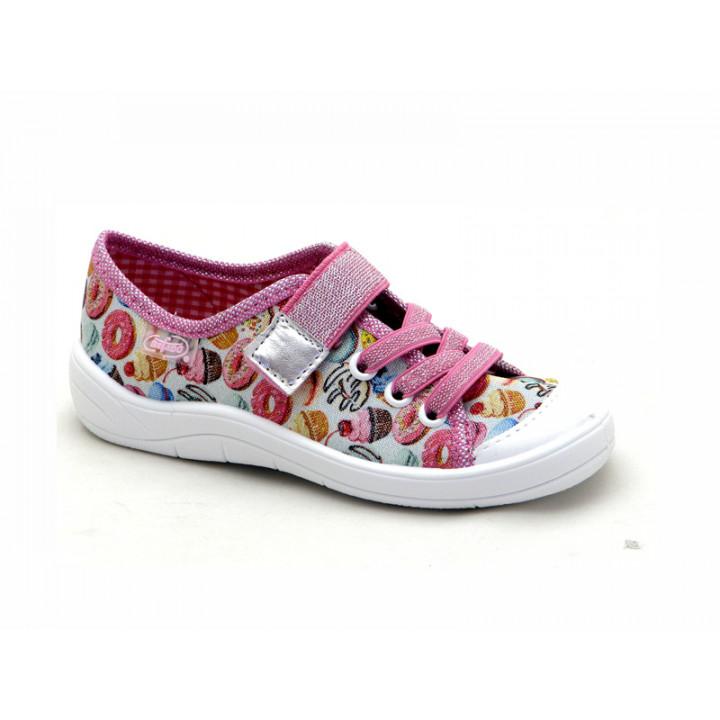 БЕФАДО - обувь для детей - купить детские кеды на липучках для девочки 251X134