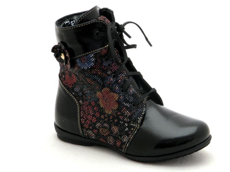 Купити дитячі демісезонні черевики для дівчинки Берегиня 1320 ситець bbcdf2deb1bfd