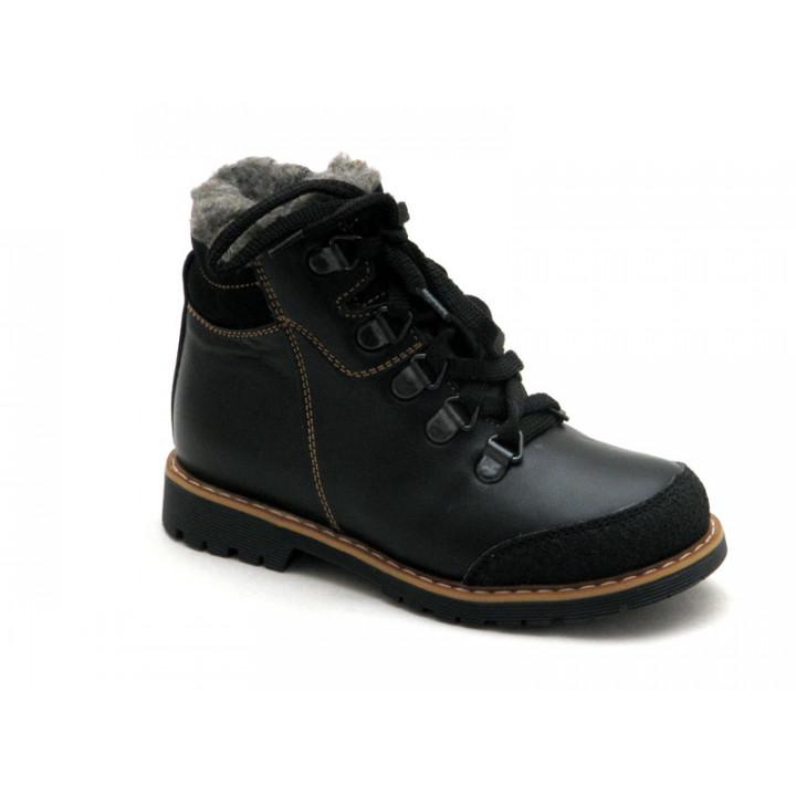 Купить детские  ботинки для мальчика Берегиня 1318 черный