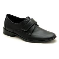 Классические туфли для школьников Берегиня 0710 черный