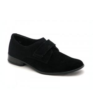 Класичні туфлі для школярів Берегиня 0710 чорний замш (32-38р.) 27d156ad7bc7a