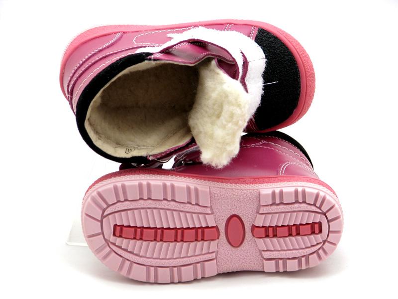 БЕРЕГИНЯ - Купити зимові дитячі черевики на дівчинку 2715 фуксія ... f24b5031ab84a