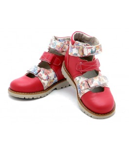 Ортопедические туфли для девочки Берегиня 0615 малина (27-30р.)