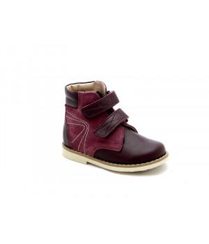 Профилактические ботинки для девочки Берегиня 1113 бордо (23-26р.)