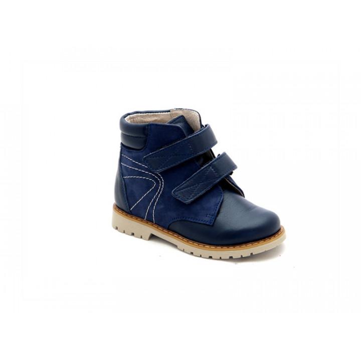 Купить детские профилактические ботинки для мальчиков Берегиня 1113 синий