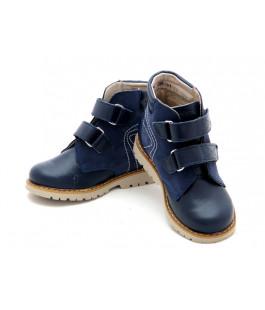 Профилактические ботинки для мальчика Берегиня 1113 синий (23-26р.)
