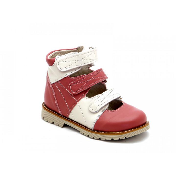 Купить детские ортопедические туфли для девочек Берегиня 0615 розовый