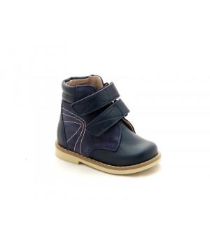 Профилактические ботинки для мальчика Берегиня 2713 синий (18-22р.)