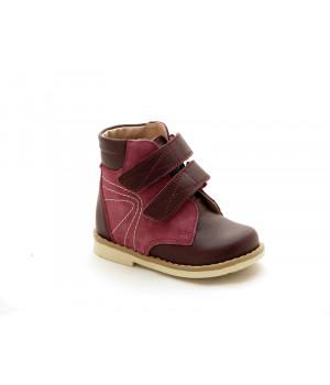 Профілактичні черевики для дівчат Берегиня 2713 бордо (27-31р.)