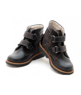 Профилактические ботинки для мальчика Берегиня 1313 черный (27-31р.)