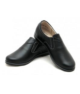 Класичні туфлі для школярів Берегиня 0709 чорний (32-37р.)