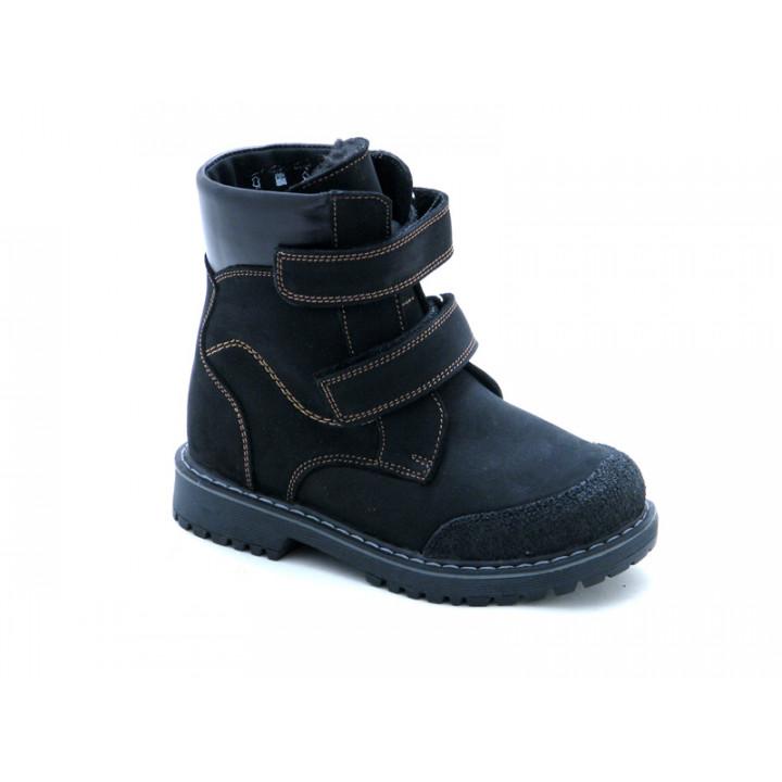 Купити дитячі зимові черевики для хлопчика Берегиня 1344ЧН чорний