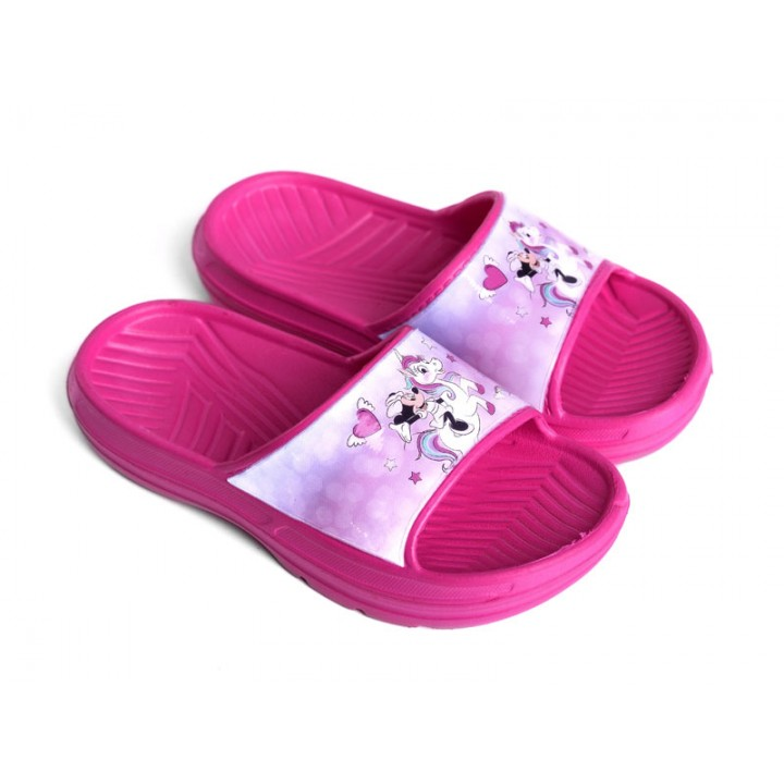Купити дитячі шльопанці МІННІ МАУС арт. 8015 для дівчат