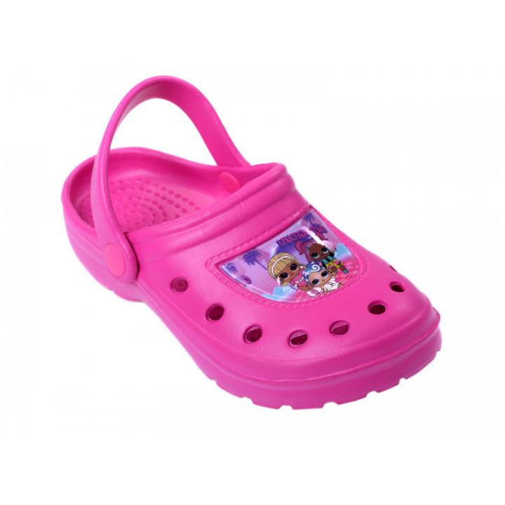 Купить детские кроксы для девочек Lol Surprise 51011-1