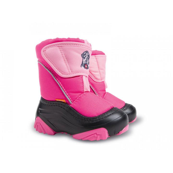 Детская обувь ДЕМАР - Купить Зимние дутики DEMAR DOGGY розовый
