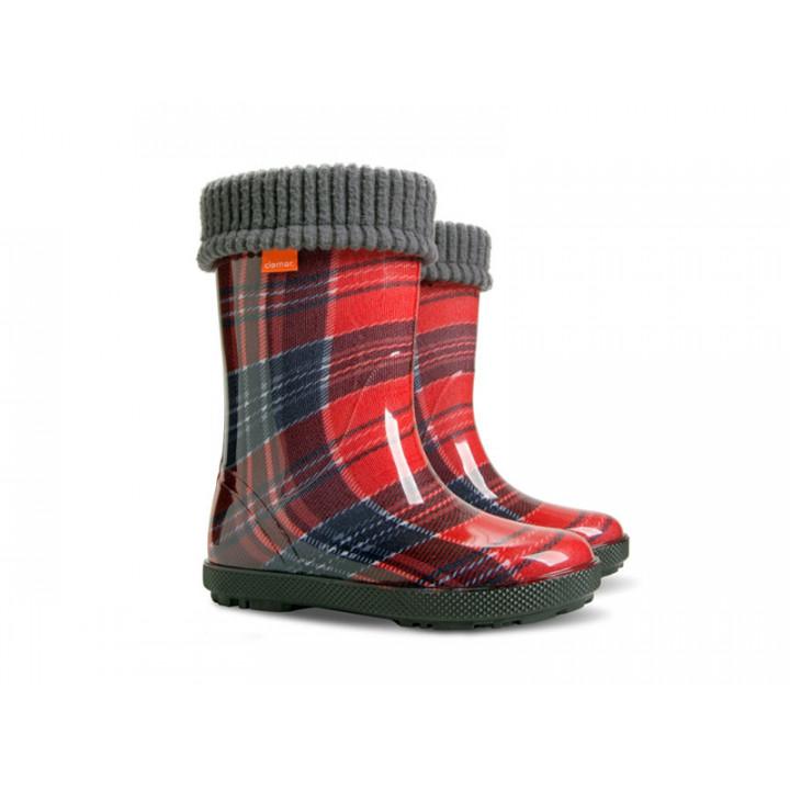 Дитяче взуття Демар - Купити чобітки гумові дитячі DEMAR HAWAI LUX PRINT 0049AD