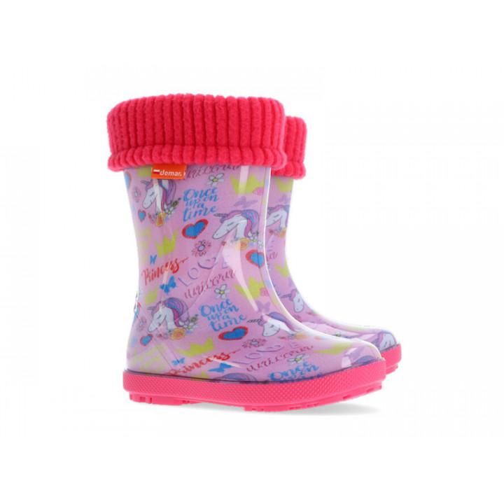 Дитяче взуття Демар - Купити дитячі гумові чобітки DEMAR 0048AL