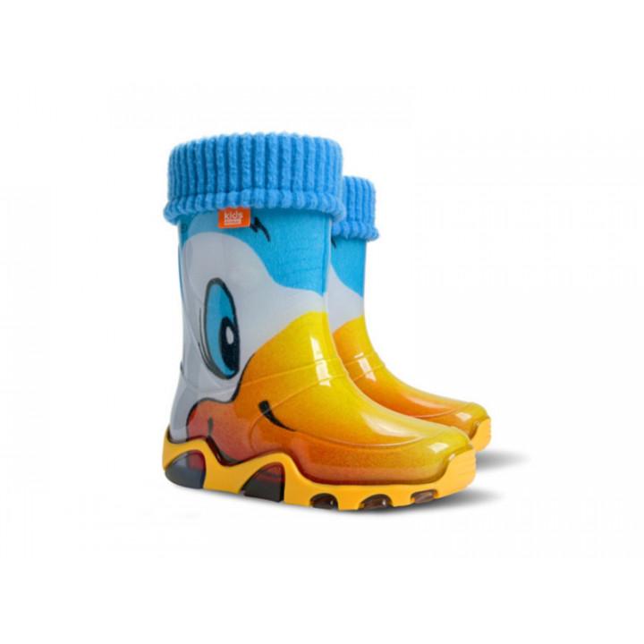 Дитяче взуття Демар - Купити чобітки гумові дитячі DEMAR 0032A