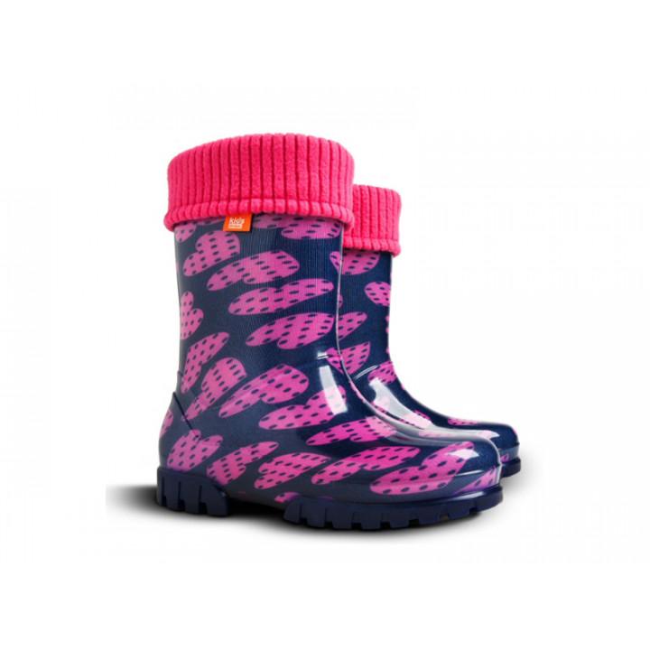 Дитяче взуття Демар - Купити чобітки гумові дитячі DEMAR TWISTER LUX PRINT 0038С