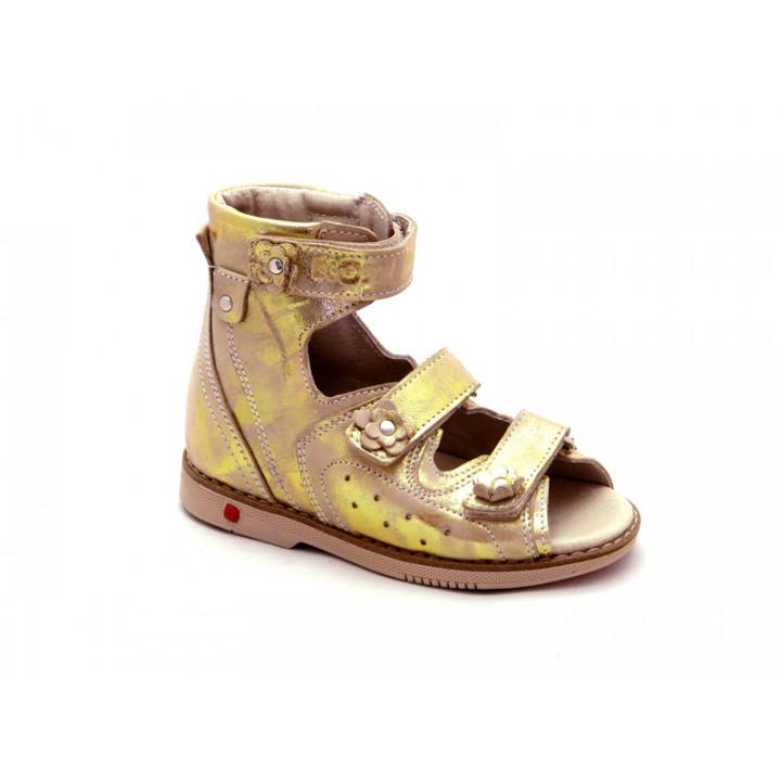ECOBY детская ортопедическая обувь - Детские ортопедические сандалии на девочки ЭКОБИ 024MIX
